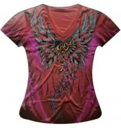 Женская футболка Ангел KPT157
