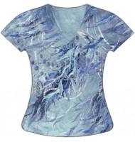 Женская футболка Перья