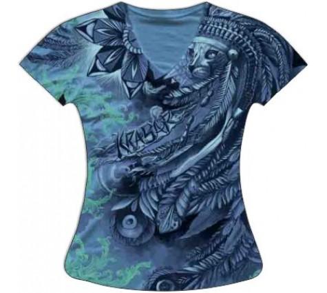 Женская футболка Вождь котов