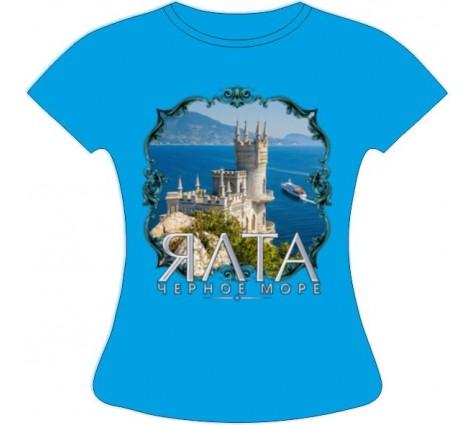 Женская футболка Ялта 514