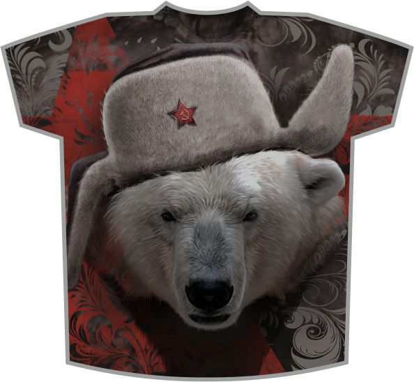 подарок с медведем