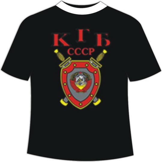 футболка ссср кгб