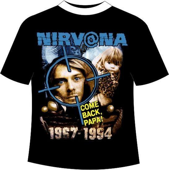 футболка nirvana