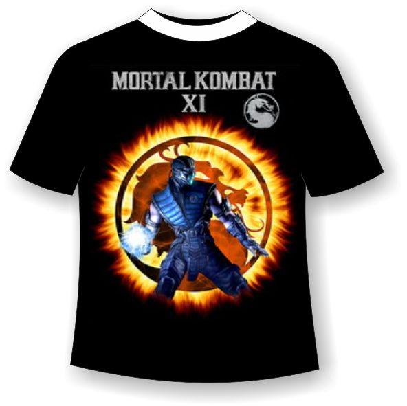 футболка mortal combat подростковая