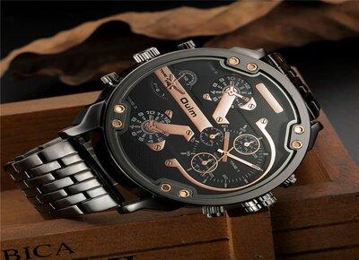 Дизайнерские часы мужчине