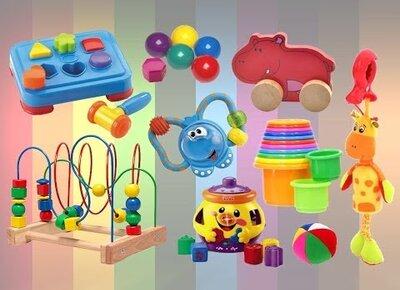 Развивающие игрушки девочке на годик
