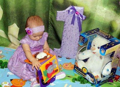 Подарок девочке на 1 годик